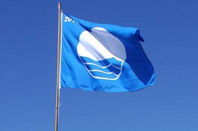 Tenerife-Connect wimpel vlag blauw label criteria strand haven