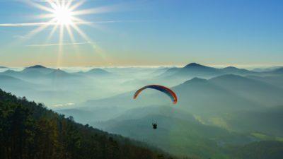 Tenerife-Connect gevaarlijk paraglider parapente sport