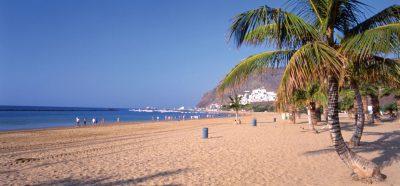 Tenerife-Connect Playa San-Teresitas san-andrés strand zand