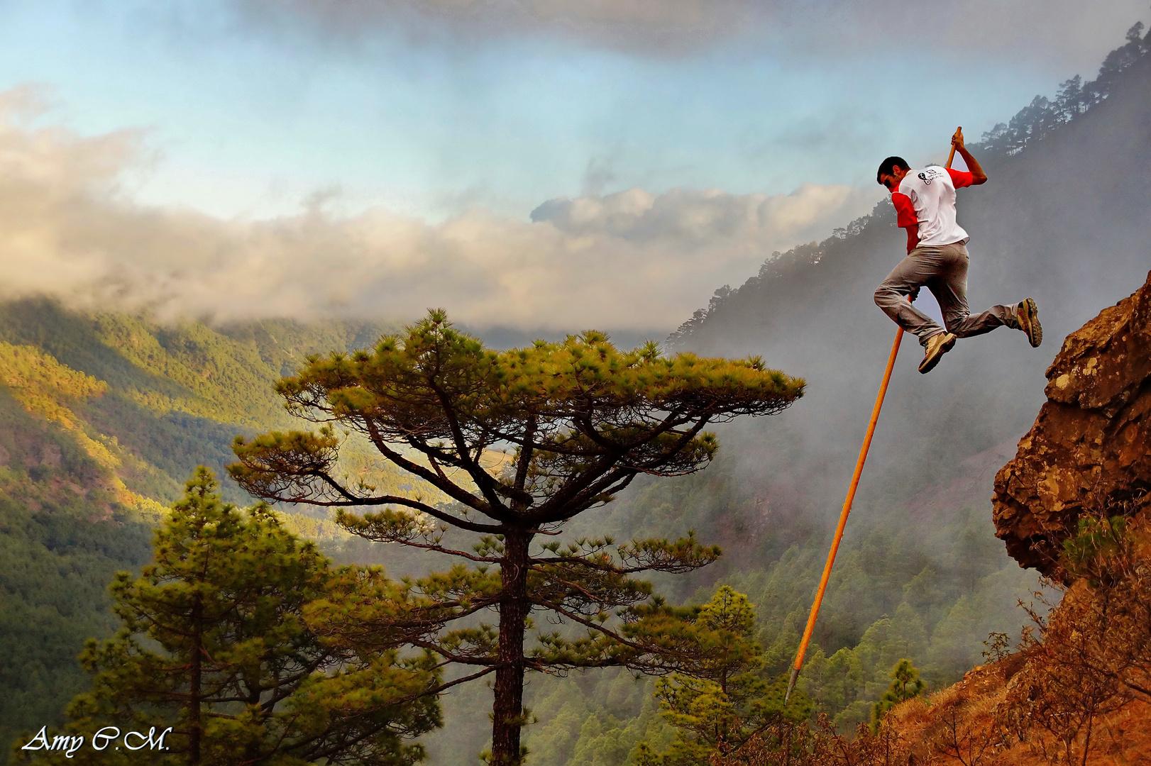 Tenerife-Connect traditie bergen springen el-pastor