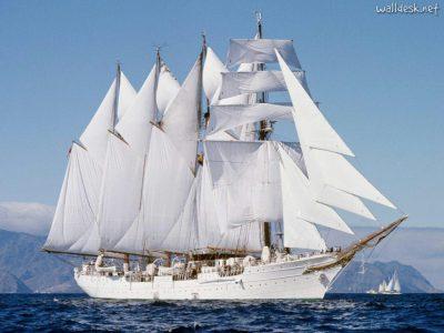 Tenerife-Connect zeilschip viermaster scholingsschip Elcano