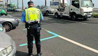 Tenerife-Connect verkeer voertuig overtreding boete fout parkeren