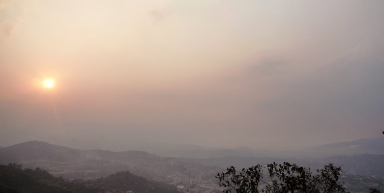 Tenerife-Connect calima meteo weer meteorologie stof stofwolk