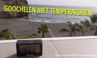 Tenerife-Connect temperatuur klimaat thermische-straling thermometer zon schaduw