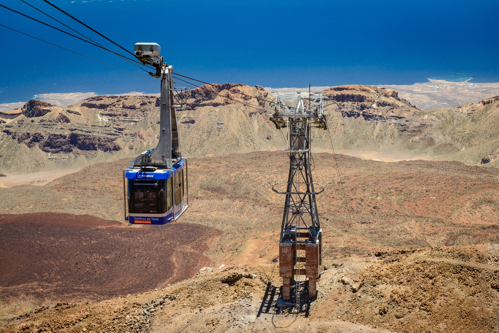 Tenerife-Connect Teide kabelbaan trip uitstap daguitstap excursie
