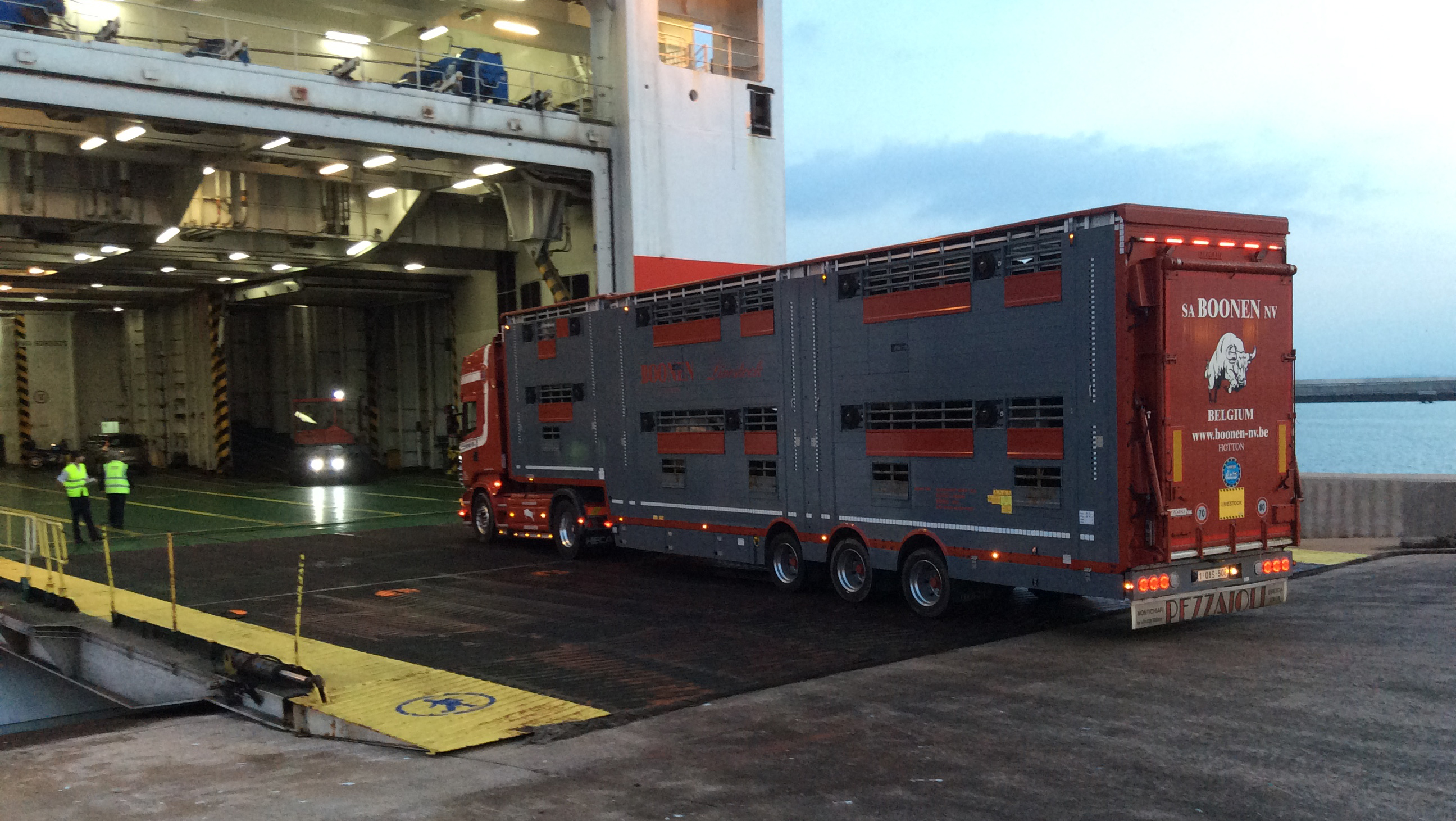 Tenerife-Connect Boonen-nv Jos runderen transport vervoer vlees