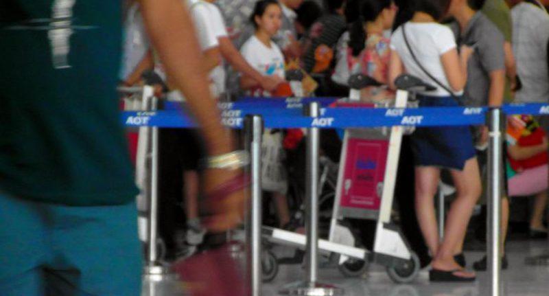 Tenerife-Connect vliegen vlucht boarden vliegtuig