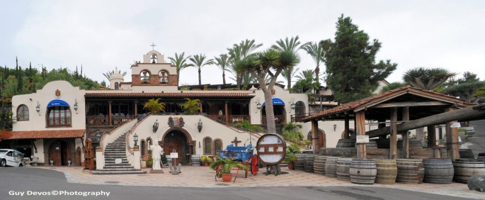 Tenerife-Connect klooster La-Montañeta Los-Realejos Meul Monasterio monniken Montañeta del Fraile
