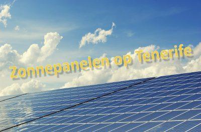 Tenerife-Connect cel ecologie fotovoltaïsch groen paneel stroom zon energie