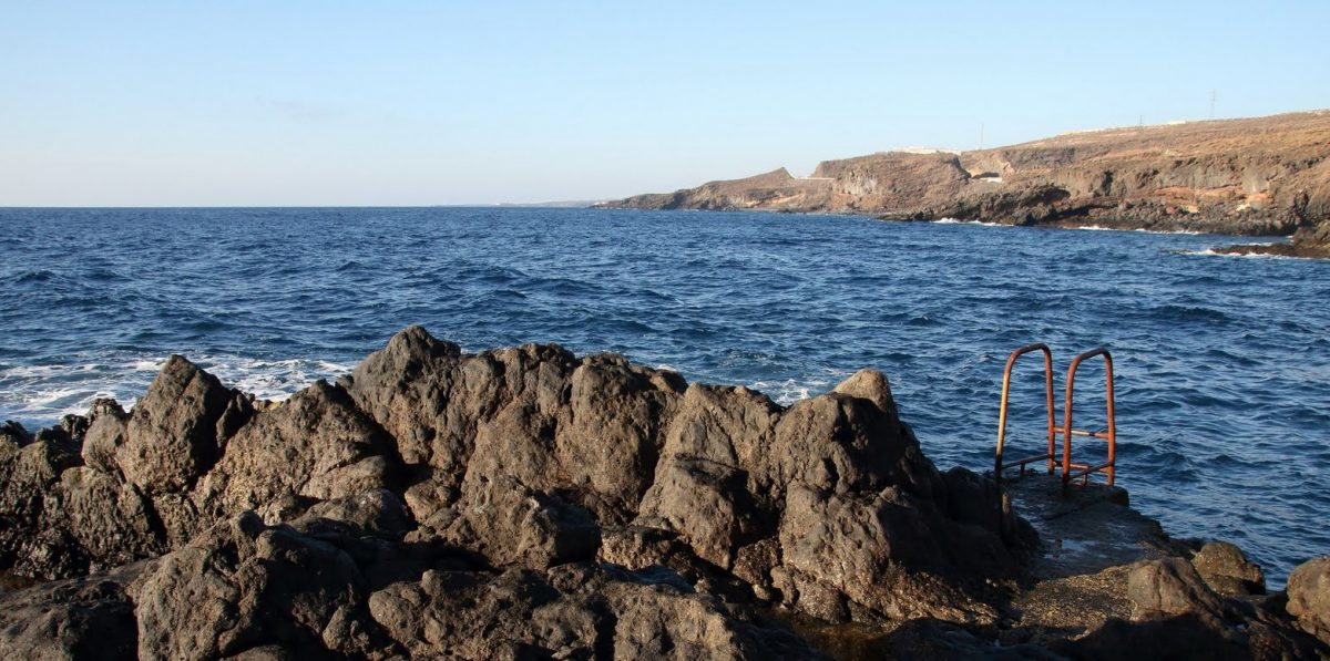 Tenerife-Connect kust kustgebied zand rots lava