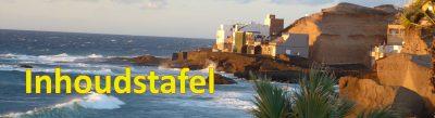 Tenerife-Connect boek titels bladwijzer paginering