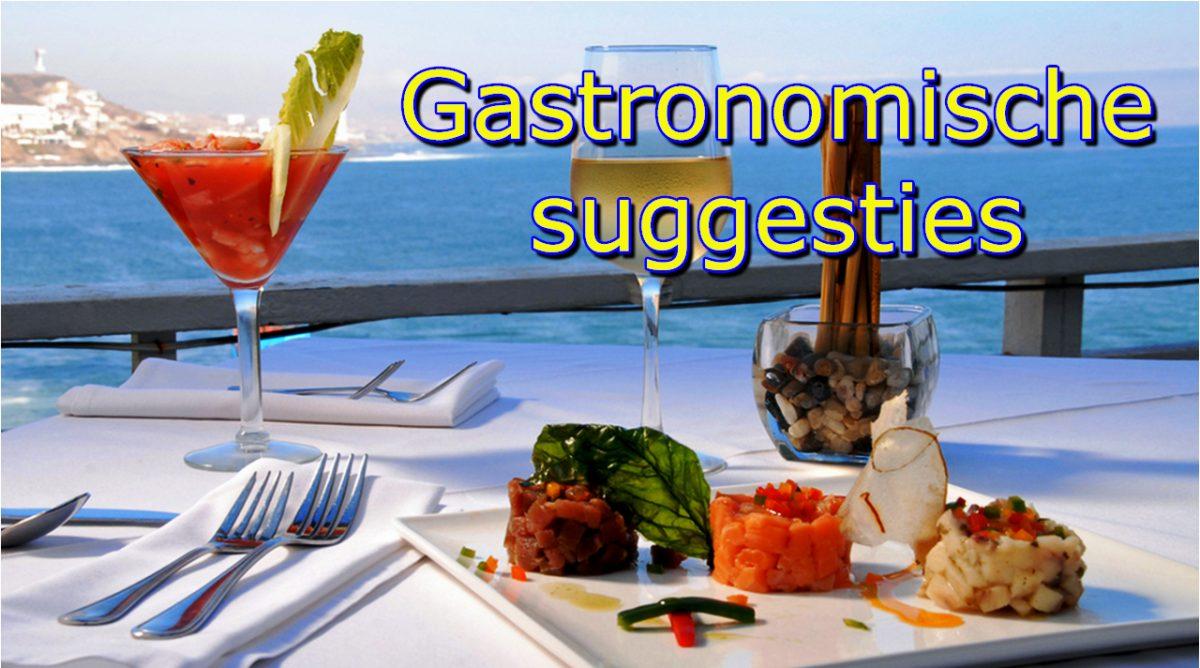Tenerife-Connect gastronomie restaurant drinken eten gastronomie jacht traditie visvangst gastronomische-suggesties