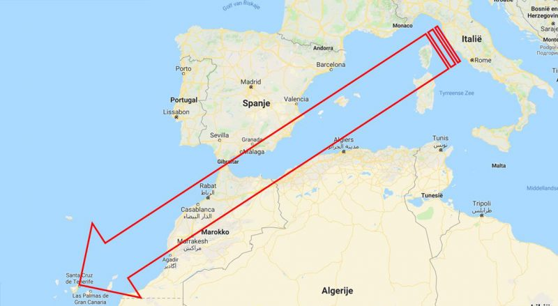 Tenerife-Connect immigratie Italiaan Arona