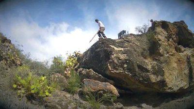 Tenerife-Connect cultuur film salto-del-pastor traditie video