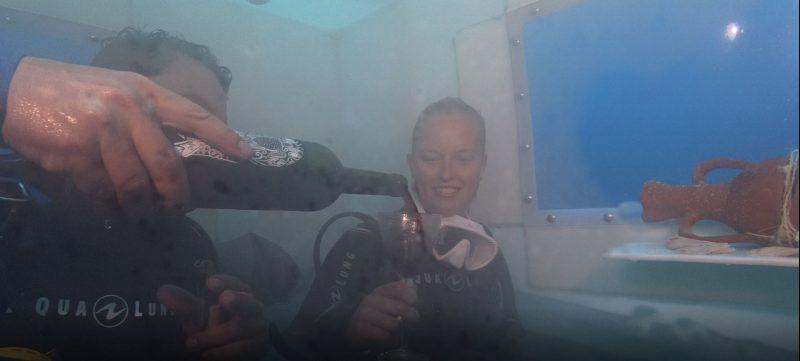 onderwaterwijndegustatie