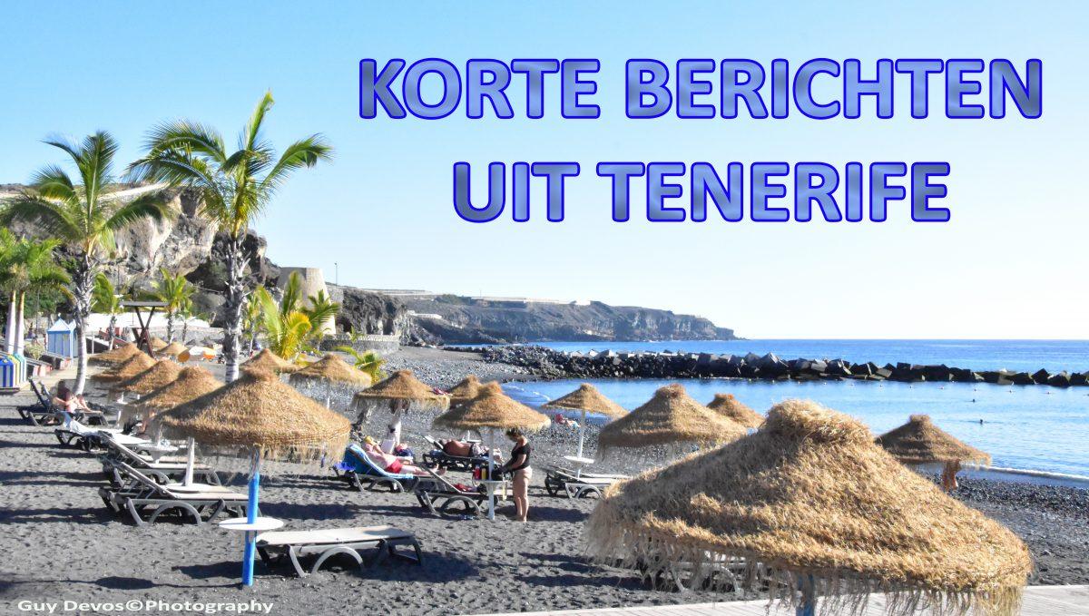 Tenerife-Connect nieuws actueel kort bericht