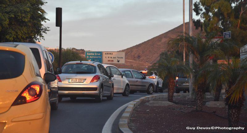 Tenerife-Connect traffic trafico voertuigen record