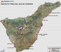 Tenerife-Connect trein treinverbinding traject noord-zuid vervoer openbaar-vervoer