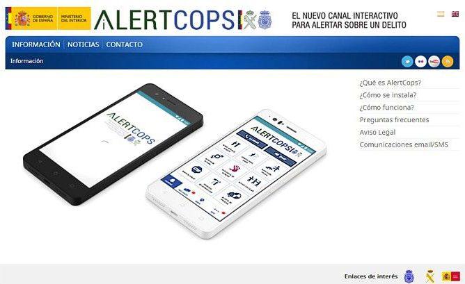 Tenerife-Connect alertcops hulp politie hulpdienst app oproep