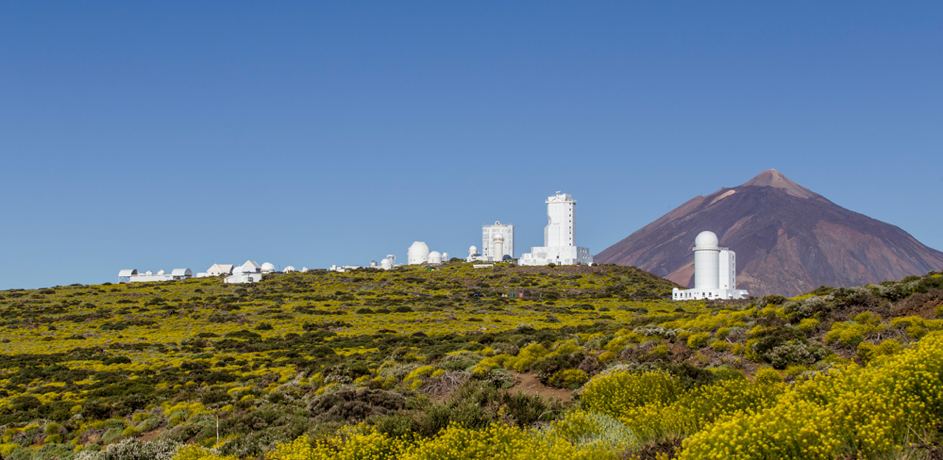 Tenerife-Connect CO2 koolstofdioxide verontreiniging Izaña observatorium